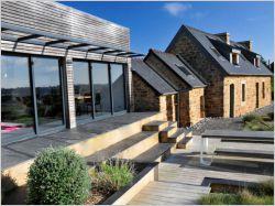 Une longère bretonne devenue maison contemporaine