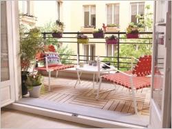 Petits balcons : des idées d'aménagement pour tous les styles