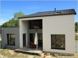 Une maison performante à petit prix construite en six mois