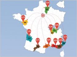 Déménagement : les Franciliens mettent le cap vers le sud