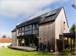 Une maison passive allie inspiration japonaise et performances énergétiques