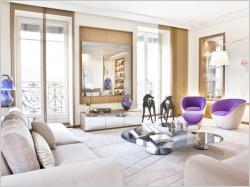 Changement radical de style pour un duplex baroque