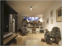 Jeux de niveaux pour un studio parisien