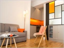 Petit espace : quand une verrière redessine un petit appartement parisien