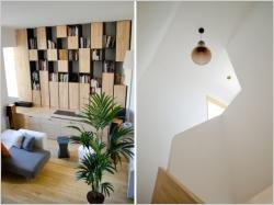 Des meubles en bois sur-mesure pour restructurer un appartement bordelais