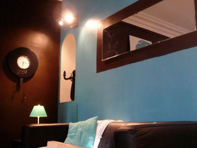Awesome Salle De Bain Turquoise Et Taupe Pictures - House ...