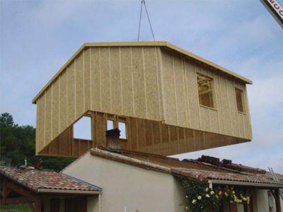 50 m2 gagn s en 4 heures for Ajout de garage maison