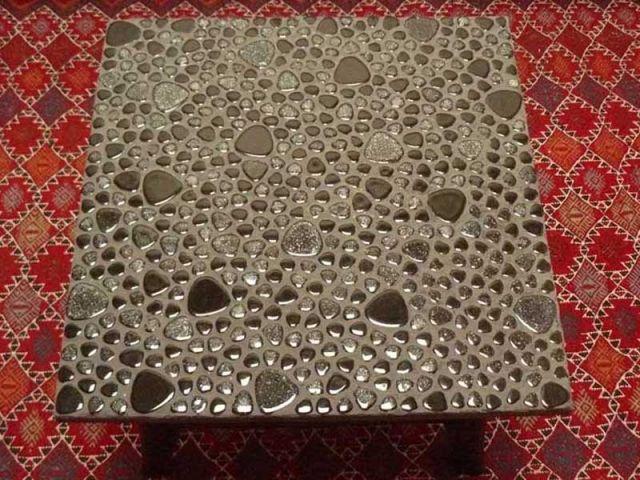 relookez votre table avec de la mosaïque