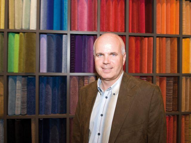 Alain Pierre, fondateur de l'enseigne Esprit & Matières.