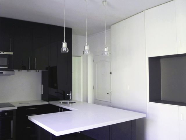 Un deux pi ces de 30 m2 optimis for Amenagement sejour cuisine 30m2