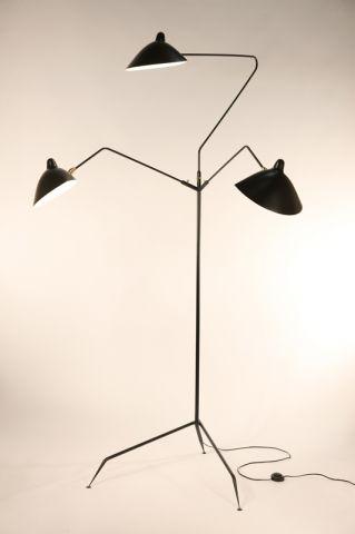 lampadaire design annee 50