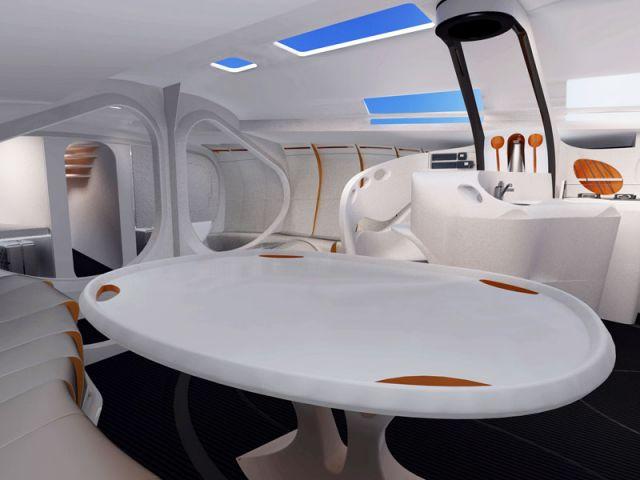 am nagement int rieur r volutionnaire pour un voilier d 39 exception. Black Bedroom Furniture Sets. Home Design Ideas