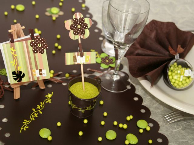 5 id es d co pour une table de mariage originale - Decoration de table originale ...