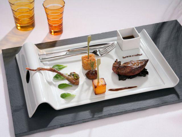des assiettes dignes d 39 un grand restaurant. Black Bedroom Furniture Sets. Home Design Ideas