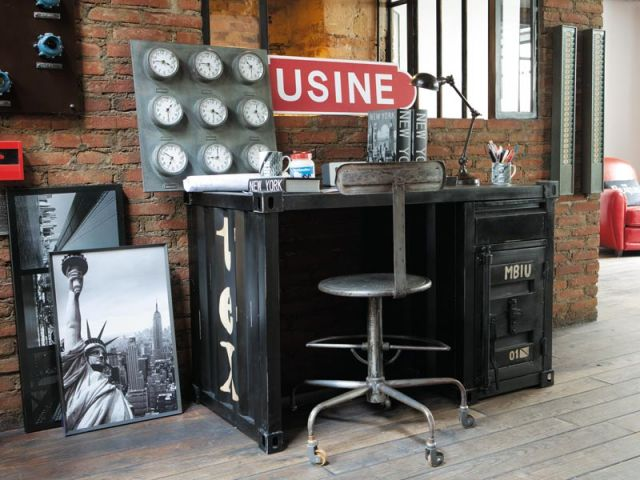 Emejing Chambre Ado Garcon Style Industriel Ideas - Design Trends ...