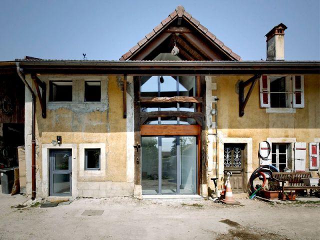 Extrêmement Une vieille grange transformée en maison FE46
