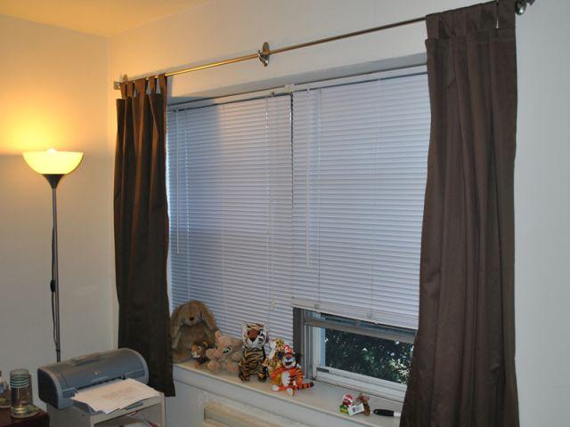Poser une tringle rideaux - Installer une tringle a rideaux ...