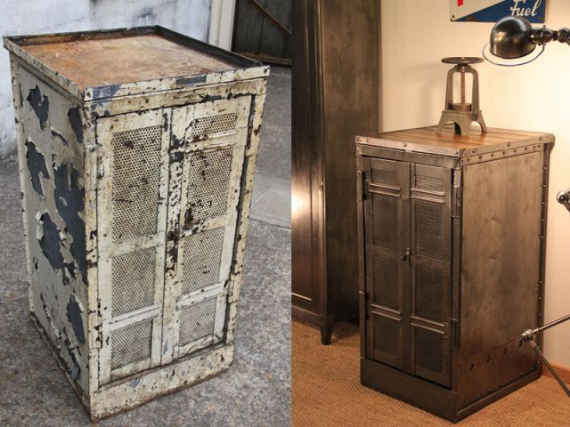 Super Conseils pratiques pour rénover un meuble industriel WB61