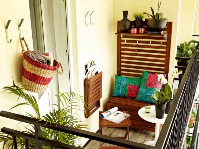 douze aménagements possibles pour votre balcon - Decoration Balcon Long Et Etroit