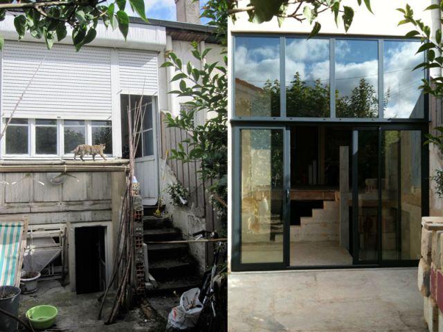 maison r gionale une choppe bordelaise r invent e. Black Bedroom Furniture Sets. Home Design Ideas