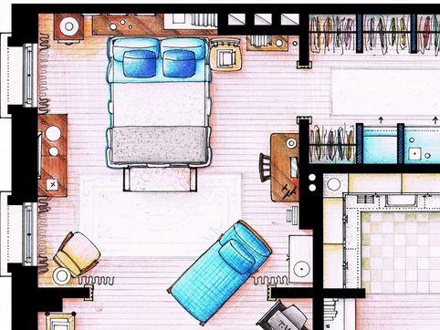 Observez la loupe les maisons de vos s ries t l for Semplici piani di una stanza