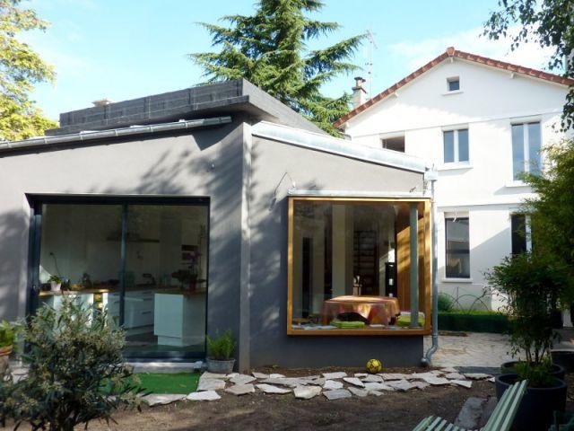 2 ailes de papillon pour transformer une extension. Black Bedroom Furniture Sets. Home Design Ideas