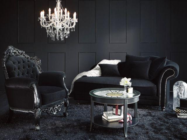 inspirations pour une d co gothique et baroque. Black Bedroom Furniture Sets. Home Design Ideas