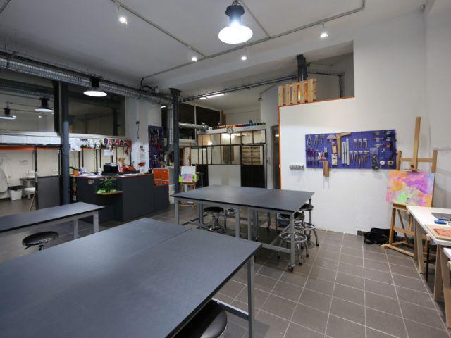 Préférence 1 atelier urbain pour amateurs de bricolage et de loisirs créatifs UA64