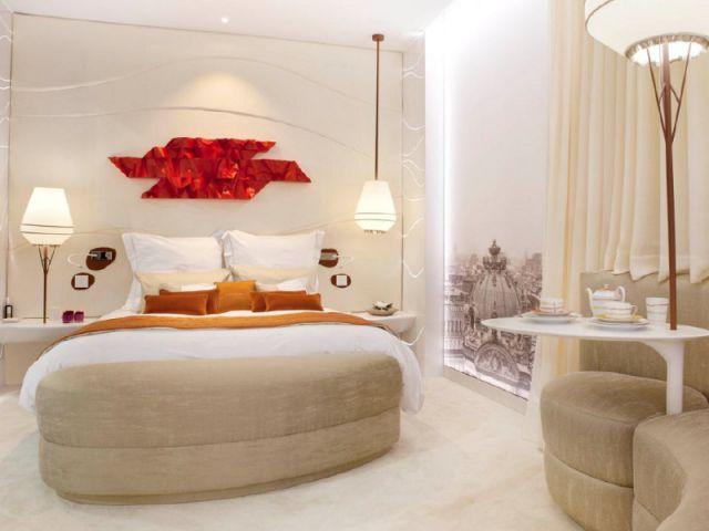 La senses room une chambre d 39 h tel de luxe accessible for Chambre hotel luxe