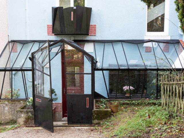 Une verri re contemporaine comme jardin d 39 hiver Verriere jardin