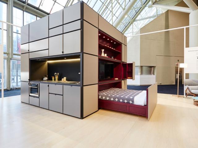 1 module d 39 habitation fa on rubik 39 s cube. Black Bedroom Furniture Sets. Home Design Ideas