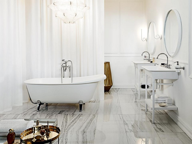 10 salles de bains r tro inspir es des ann es 1930