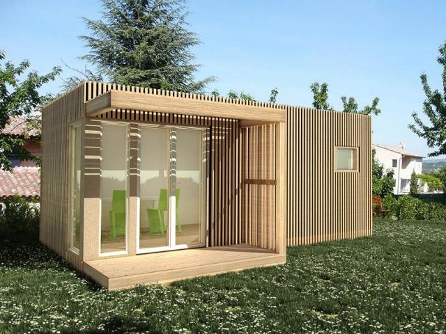 Un studio de jardin modulable