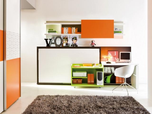 un meuble roulant pour un bureau qui se fait discret maisonapart. Black Bedroom Furniture Sets. Home Design Ideas