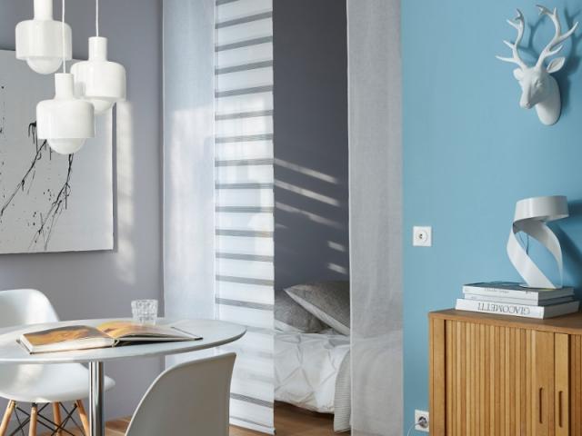 am nager un coin nuit gr ce des panneaux japonais maisonapart. Black Bedroom Furniture Sets. Home Design Ideas
