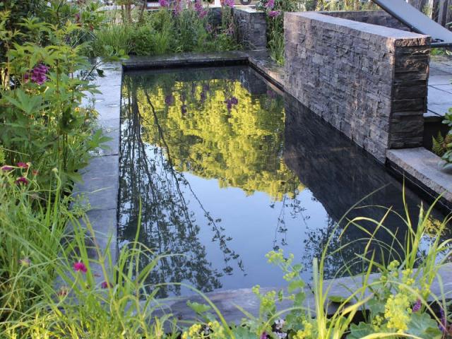 1 beau bassin pour mon jardin - Bassin carre pour jardin perpignan ...