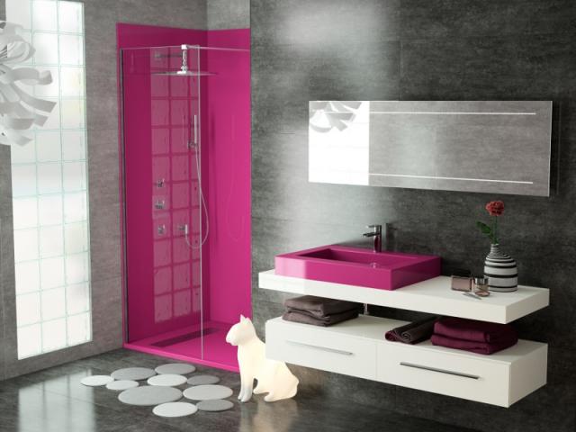 salle de bains osez la couleur - Domotique Salle De Bain