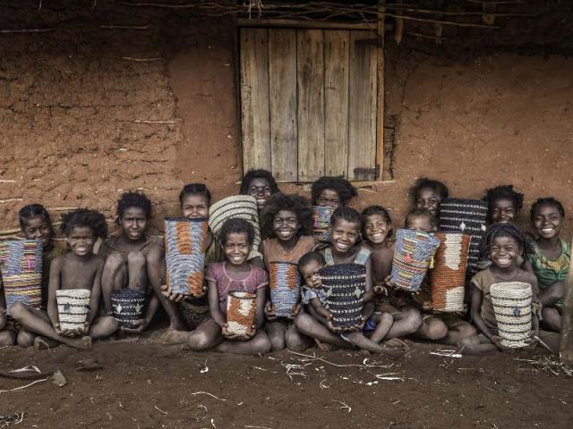 Les enfants de la tribu Mikea