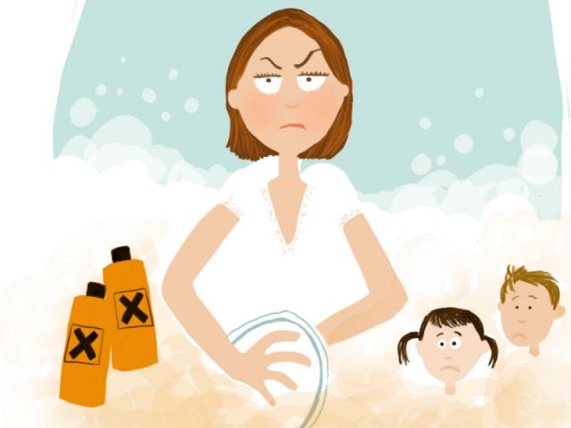 Ménage : ne pas utiliser de produits toxiques
