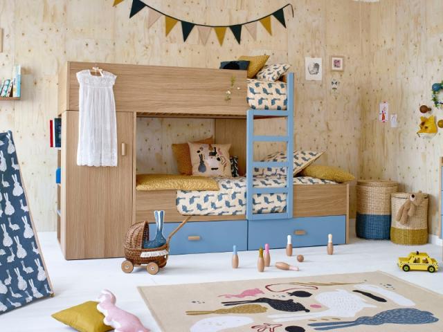 lits cabanes 10 mod les pour une chambre d 39 enfant cocon. Black Bedroom Furniture Sets. Home Design Ideas