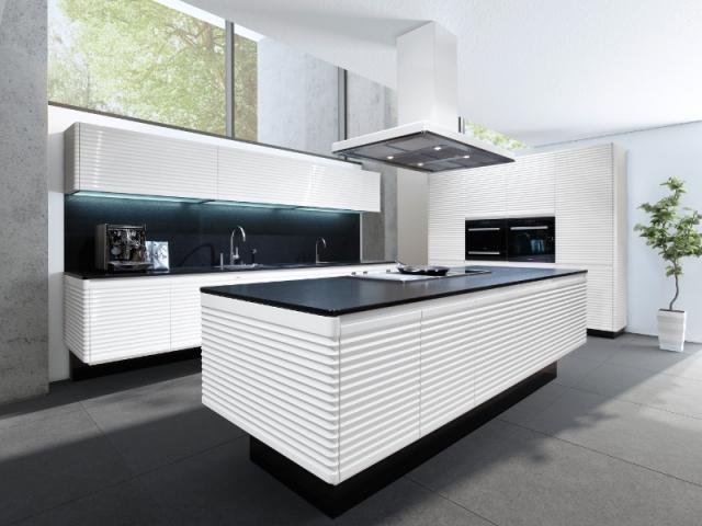 Surface texturée pour une cuisine entière