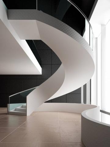 Surface texturée pour un escalier