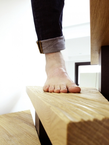 Un escalier design et ergonomique