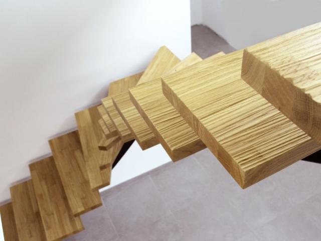 Un escalier multifacettes