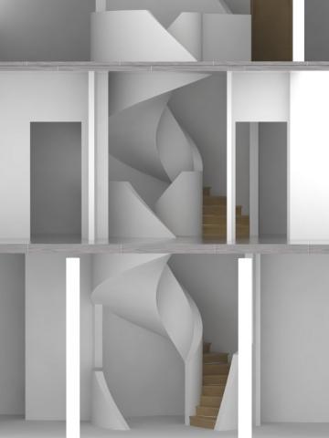 Un escalier qui fait tourner la tête