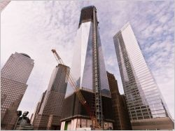 Le nouveau World Trade Center culmine � 541 m�tres