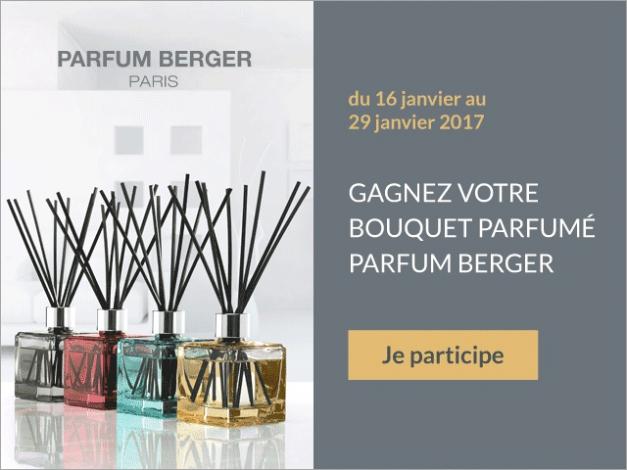 Grand Jeu Parfum Berger 2017