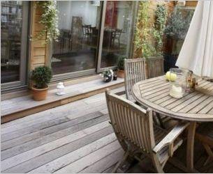Terrasse au milieu de la maison habitats atypiques et loppsi 2 cr dits d 39 imp t quipements - Terras amenagee ...