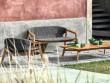 Un salon de jardin style bergère pour un repos optimisé