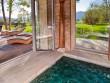 Une terrasse en bois pour espace bien-être